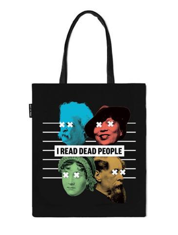 I Read Dead People Tote