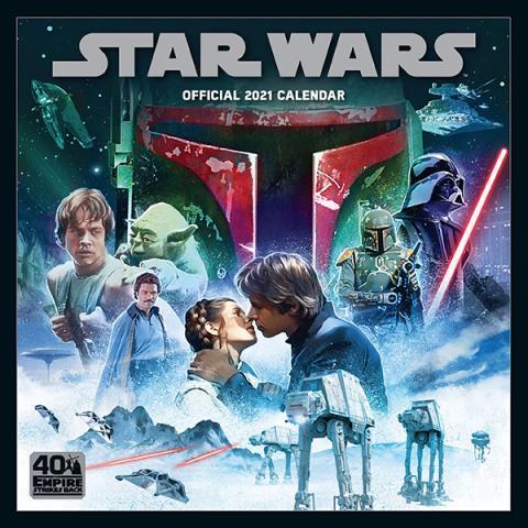 Star Wars 2021 Classic Wall Calendar