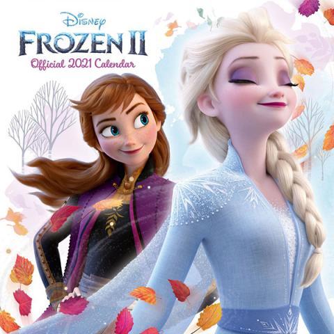 Frozen 2 2021 Wall Calendar
