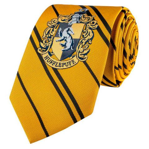 Harry Potter Tie Hufflepuff Crest New Edition