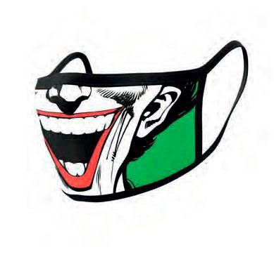 Face Covering 2-Pack Joker Face