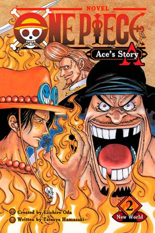 One Piece Ace's Story Novel 2