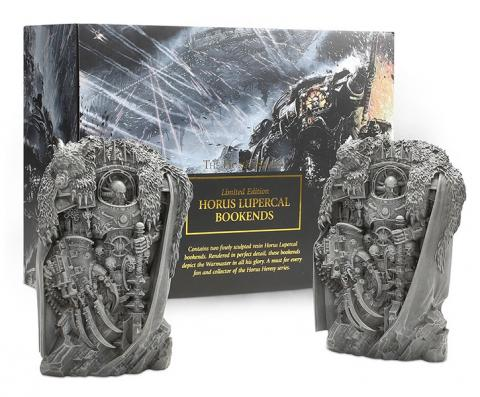 Horus Heresy: Horus Lupercal Bookends (Limited)