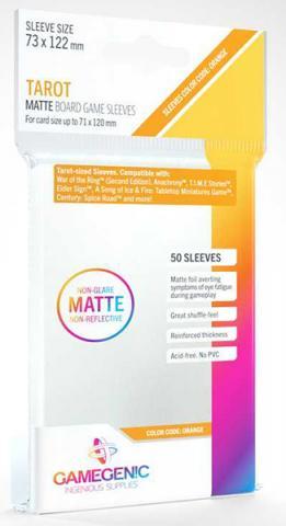 Tarot Matte Sleeves 73x122mm