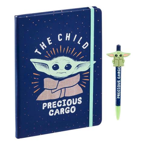 Notebook with Pen The Child (Baby Yoda) Precious Cargo