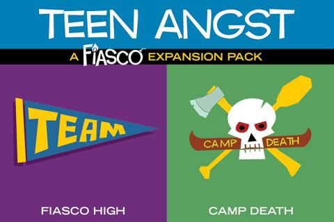 Fiasco (Revised) RPG - Teen Angst Expansion Pack