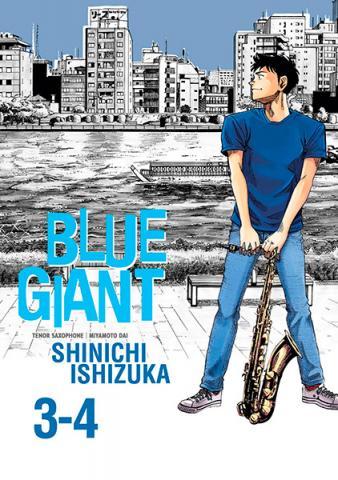 Blue Giant Omnibus Vol 3-4