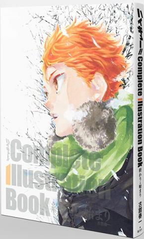 Haikyu! ! Complete Illustration Book Owari to Hajimari (Japanska)