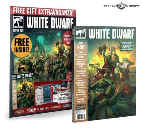 White Dwarf Monthly Nr 458 November