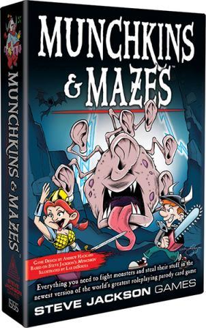 Munchkins & Mazes Card Game