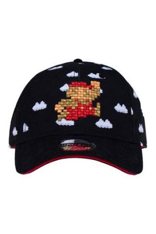 Super Mario Curved Bill Cap Cloud Mario