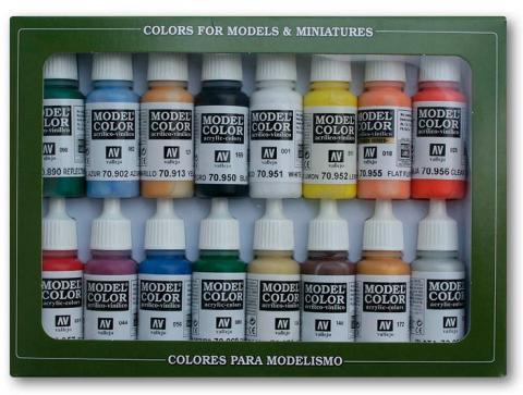 Model Color Basic Set (16 färger)
