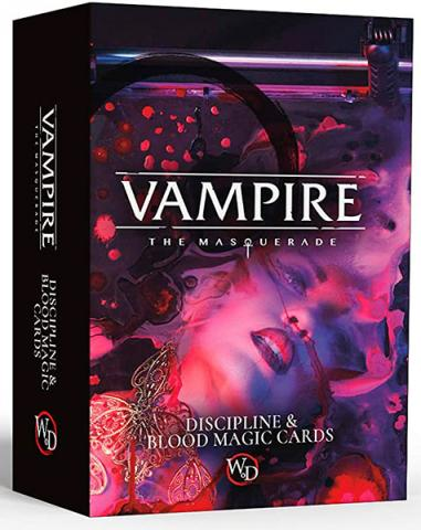 Discipline & Blood Magic Cards