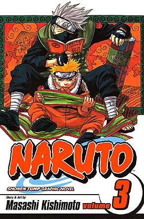Naruto Vol 3: Bridge of Courage