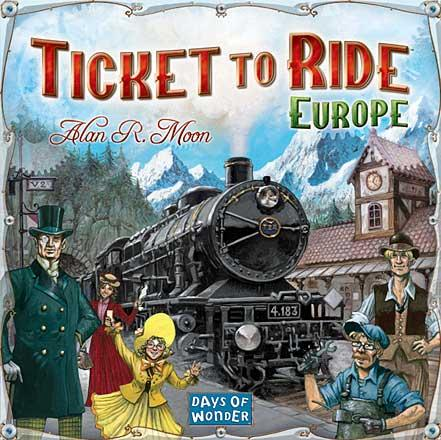 Ticket to Ride - Europe (Skandinavisk utgåva)
