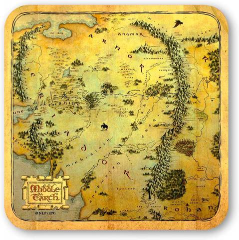 Hobbit Middle Earth Coasters