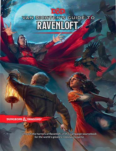 Van Richten's Guide to Ravenloft - Campaign Sourcebook