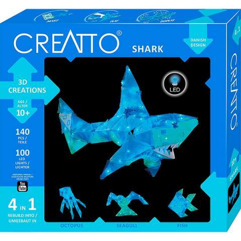 Shimmer Shark - LED 3D pussel