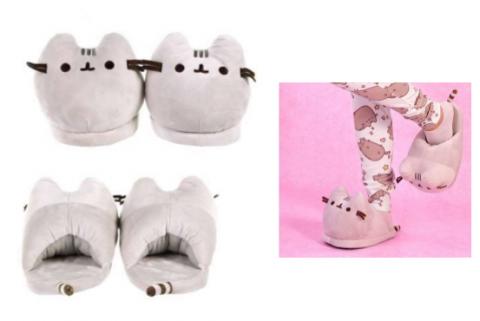 Pusheen 3D Slippers Open Back (Size 36-38)