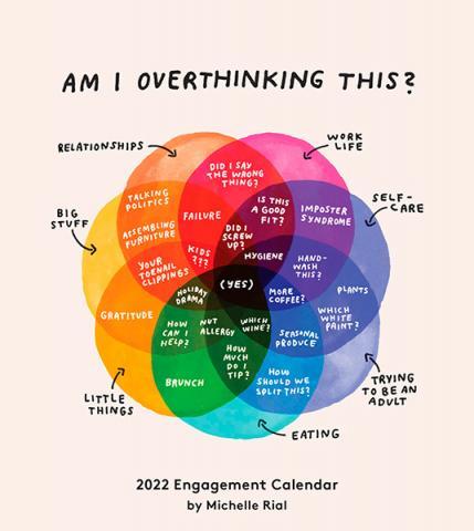 Am I Overthinking This? 2022 Engagement Calendar