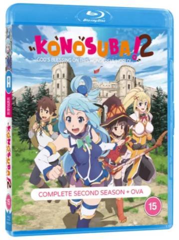 Konosuba: God's Blessing On This Wonderful World - S 2 (Blu-ray)