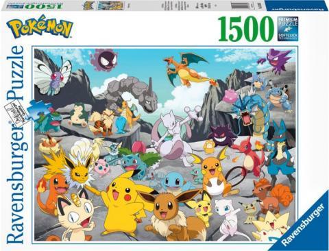 Pokemon Classics (1500 pieces)