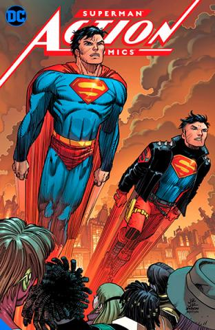 Action Comics Vol 4: Metropolis Burning
