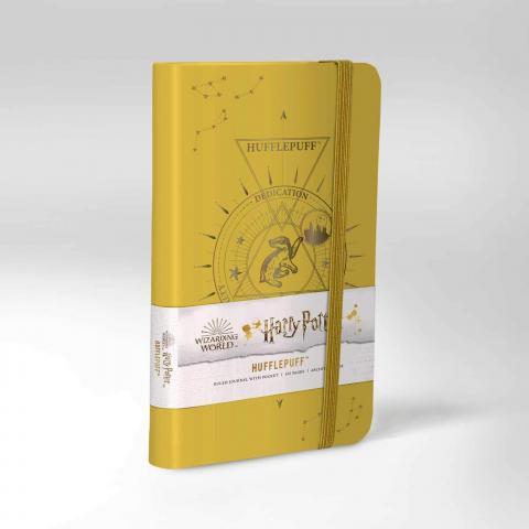 Hufflepuff Constellation Ruled Pocket Journal