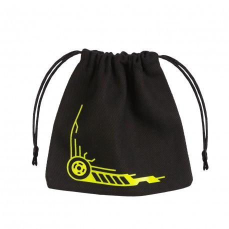 Dice Bag: Galactic Black & Yellow