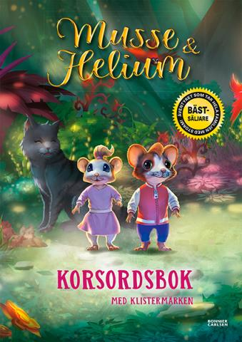 Musse & Helium Korsordsbok