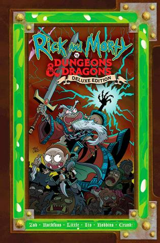 Rick and Morty vs Dungeons & Dragons Deluxe Edition