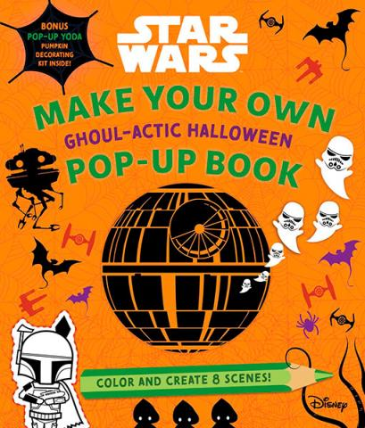 Make Your Own Pop-Up Book: Ghoul-actic Halloween