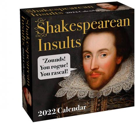 Shakespearean Insults 2022 Day-to-Day Calendar