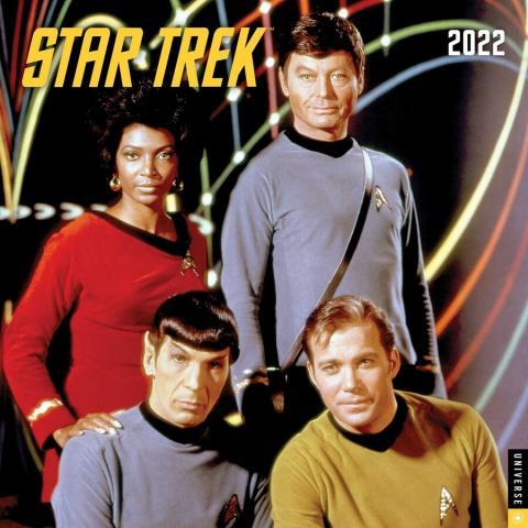 Star Trek 2022 Wall Calendar