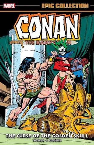 Conan the Barbarian: The Curse of the Golden Skull