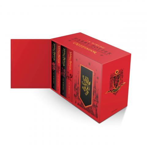 Harry Potter Gryffindor Box Set Vol 1-7 (House Edition)