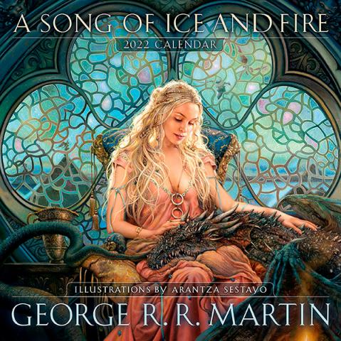 A Song of Ice and Fire 2022 Wall Calendar