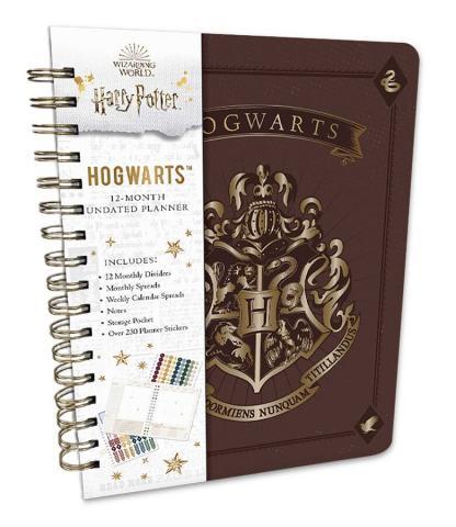 Hogwarts 12-Month Undated Planner