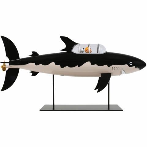 Samlarfigur - Haj-ubåt 77cm