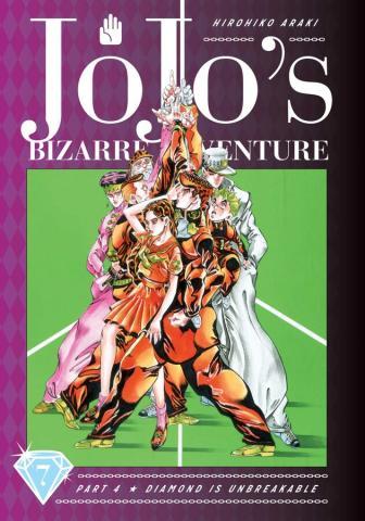 Jojo's Bizarre Adventure Diamond is Unbreakable Vol 7
