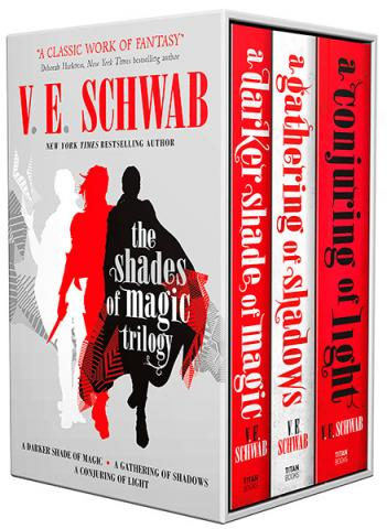 The Shades of Magic Trilogy Slipcase