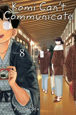 Komi Can't Communicate Vol 8