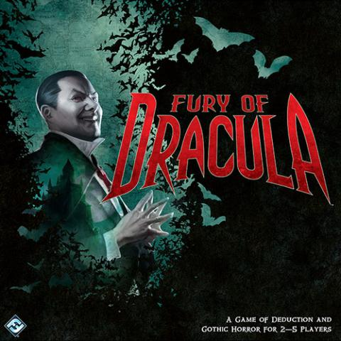 Fury of Dracula Board Game