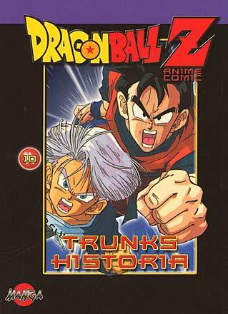 Dragonball Z del 10: Trunks historia