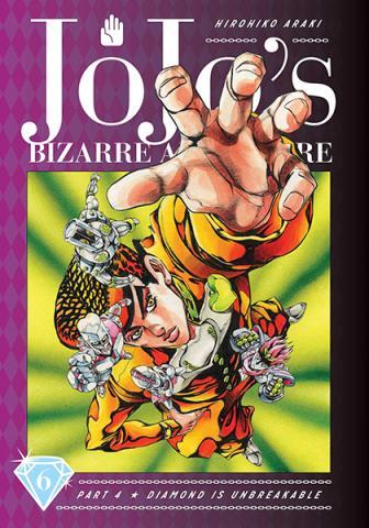 Jojo's Bizarre Adventure Diamond is Unbreakable Vol 6
