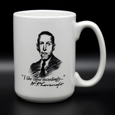 Mug: Lovecraft - I like coffee exceedingly...