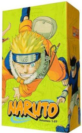 Naruto Box Set 1: Vol 1-27