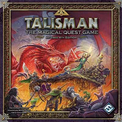 Talisman Revised 4th Edition Boardgame