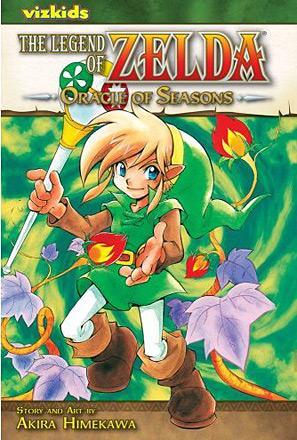 The Legend of Zelda Vol 4: Oracle of Seasons
