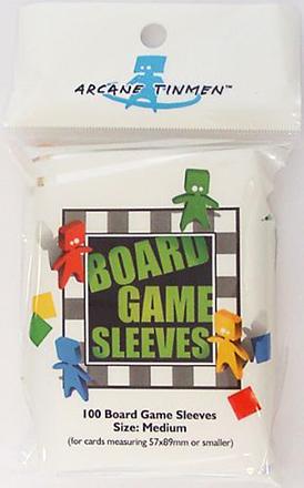 Boardgame Sleeves Medium (57*89mm)